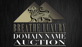 Breathe Luxury domain name auction