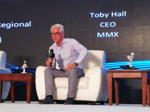 Picture of Toby Hall, CEO of domain company MMX