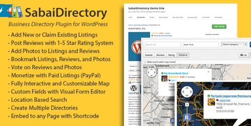 Directory Plugins - Sabai Directory