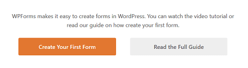 WPForms - Create Your First Form