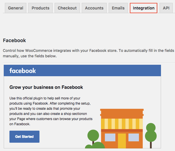 WooCommerce Extensions - Facebook for WooCommerce