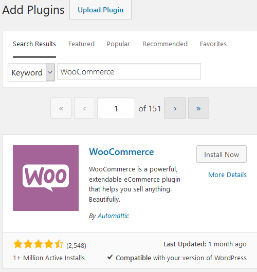 WooCommerce Plugin - Installation and Activation