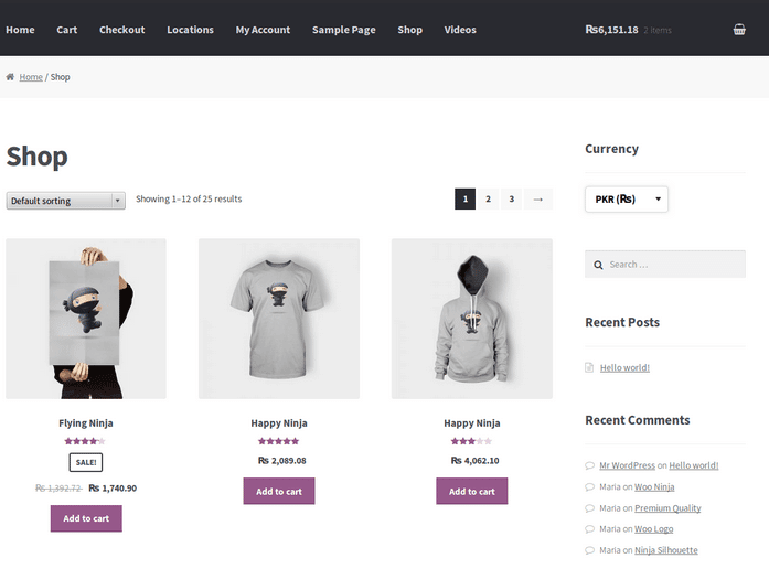 WooCommerce Extensions - WooCommerce Currency Switcher