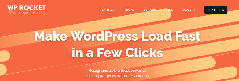 WordPress Caching Plugins - WP Rocket