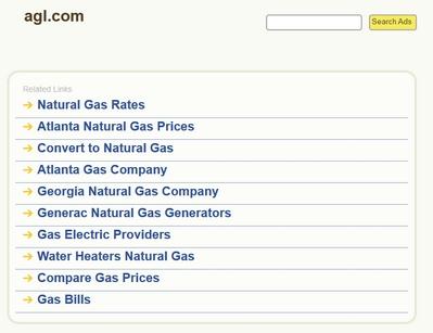 Agl Atlanta Natural Gas