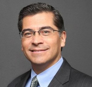 Photo of California attorney general Xavier Becerra