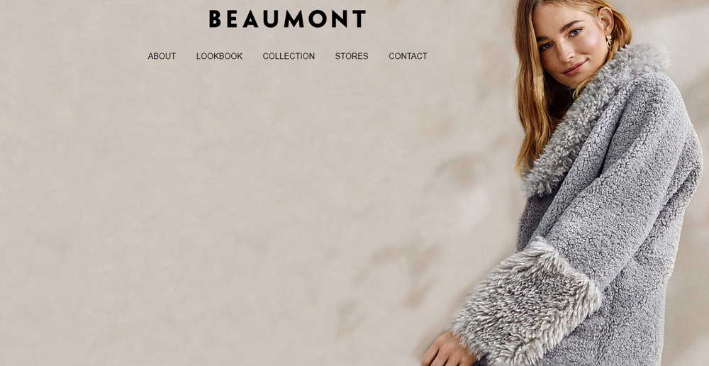 Screenshot of Beaumont.eu