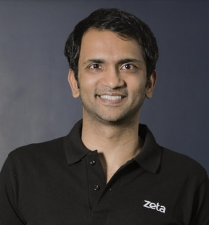 Headshot of Bhavin Turakhia of Zeta