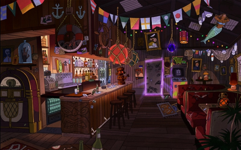 Picture of Bored Ape Yacht Club is an empty bar