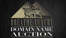 Breathe Luxury domain name auction