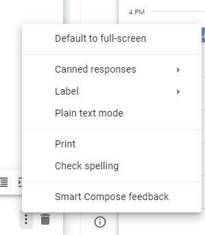 Canned responses from Gmail Labs