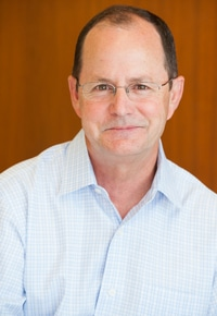 Picture of David Brown, outgoing CEO of Web.com