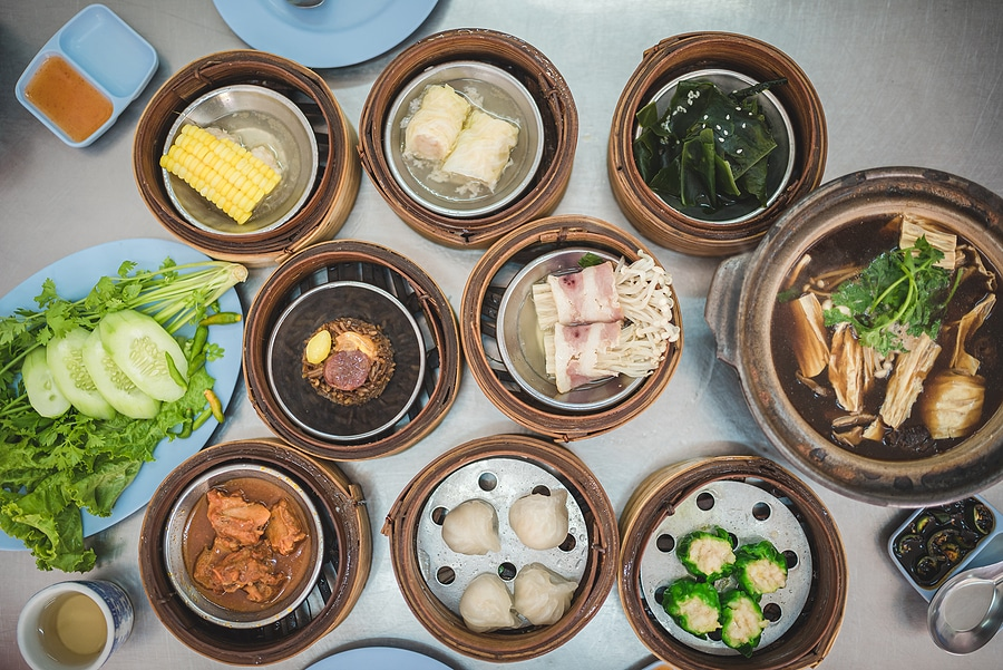 Picture of Chinese dim sum