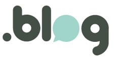 Logo for WordPress' .blog top level domain name