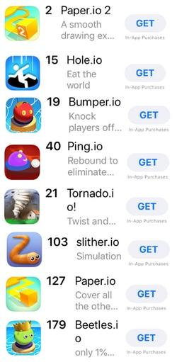 Io Dominates The Apple App Store Domain Name Wire Domain
