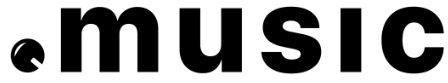 .Music top level domain logo