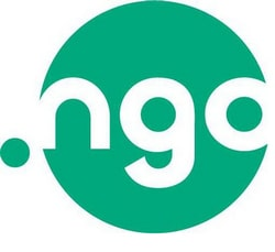 Logo for .NGO, a new top level domain for non-profits