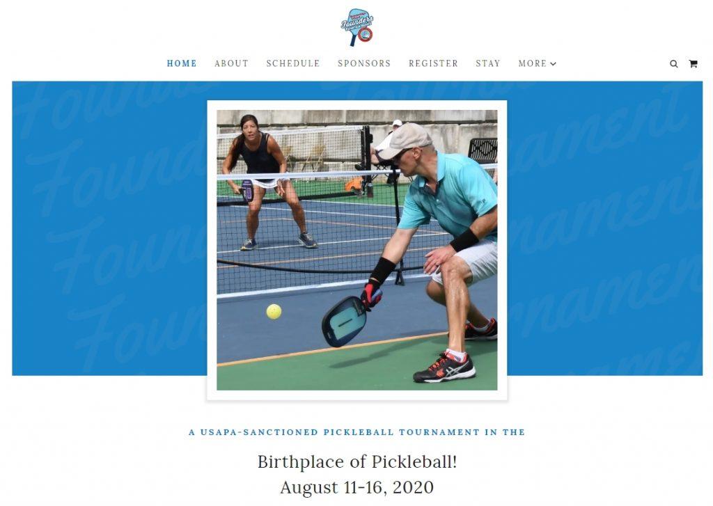 Screenshot of website created with GoDaddy Websites + Marketing