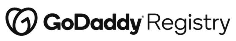 Logo for GoDaddy Registry