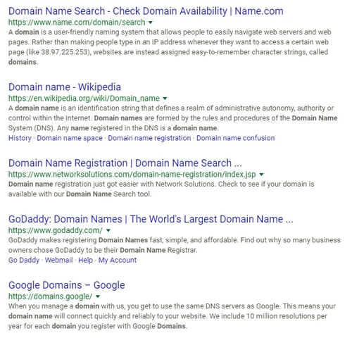 top search results for domain name domain name wire domain