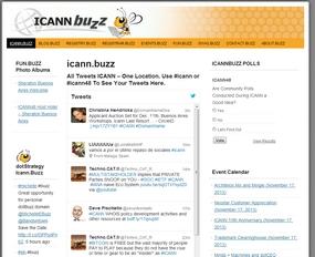 ICANN buzz