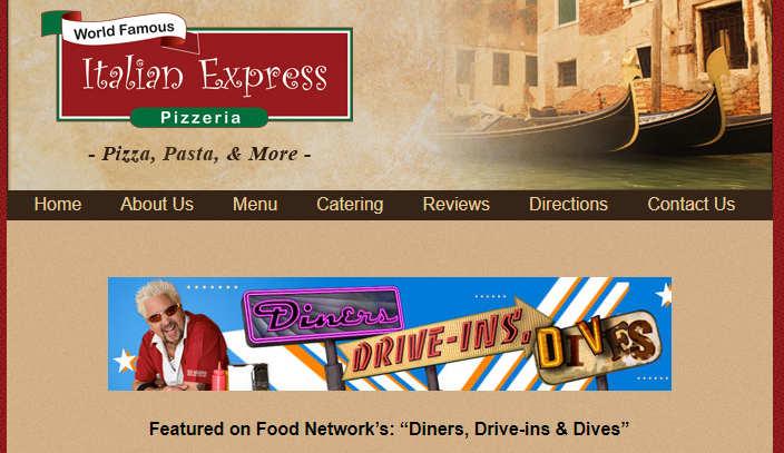 Screenshot for Italian Express Pizzeria in Boston