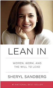 Book cover of Lean In by Sheryl Sandberg