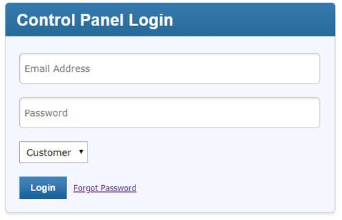 Alpnames login on LogicBoxes