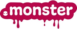 Logo for .Monster top level domain name