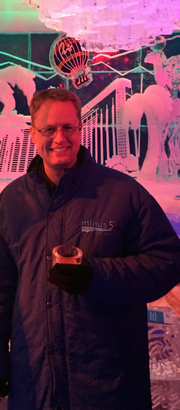 Ice Bar party hosted by Public Interest Registry (.Org)