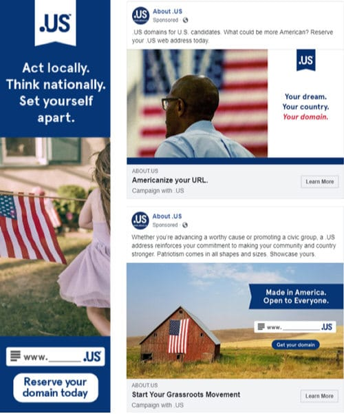 Images of Campaign with Us from .US domain