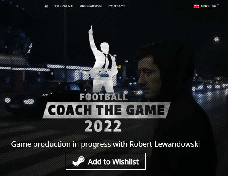 Screenshot of football.coach