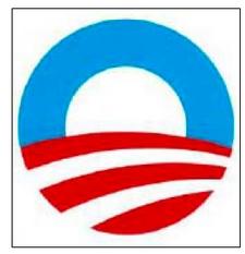 Obama Rising sun