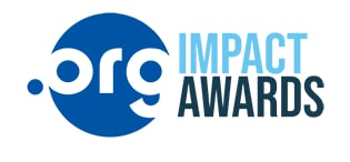 Logo for .org impact awards