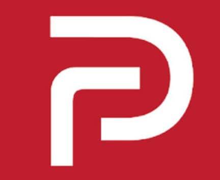 Logo for Parler