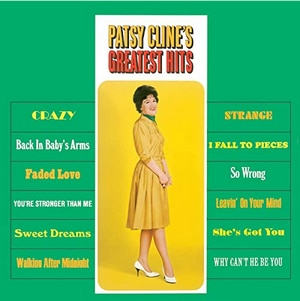 Image of Patsy Cline's greatest hits album cover