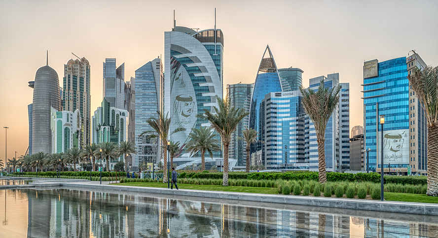 Picture of Doha, Qatar skyline