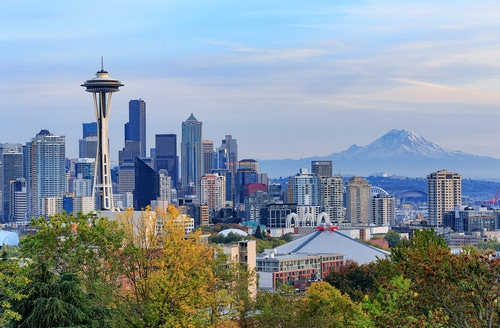 Picture of Seattle, Washington skyline
