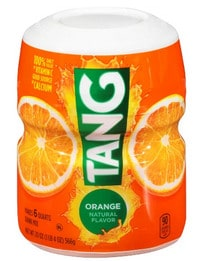 Picture of package of tang