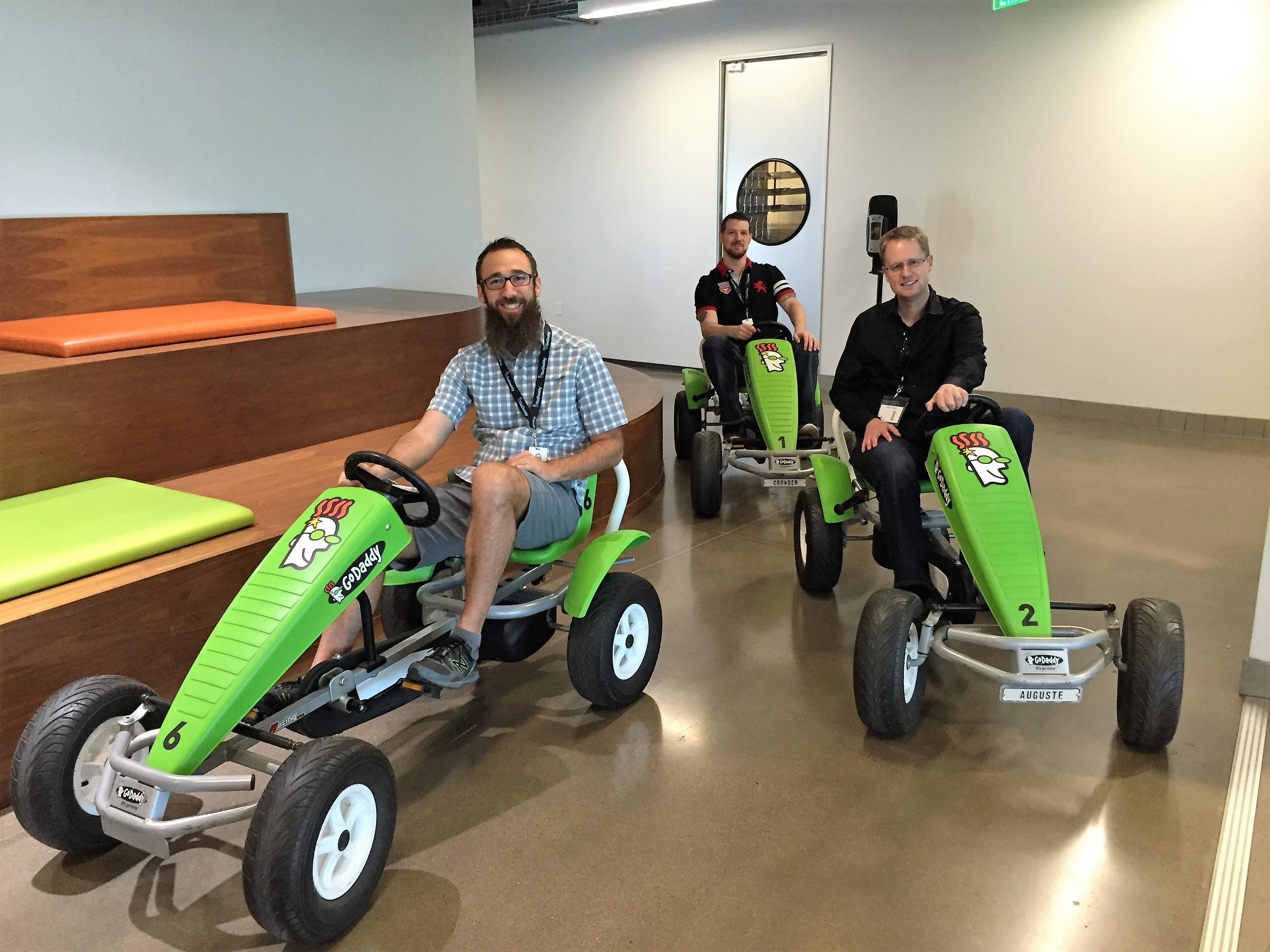 Take a look inside GoDaddy's Tempe Office - Domain Name Wire