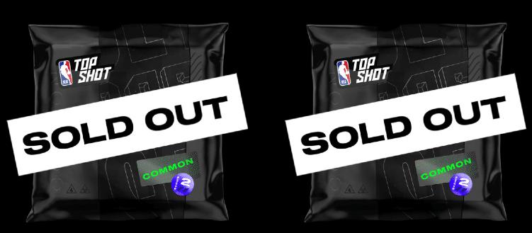 Image of NBA Top Shots cards