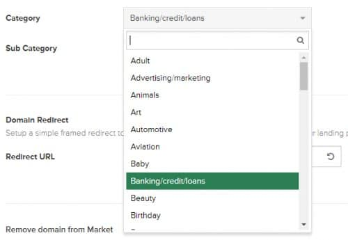 Uniregistry lets you category-target your parking keywords. GoDaddy should keep this feature.
