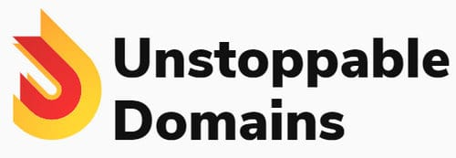 Unstoppable Domains logo for company creating blockchain domain names