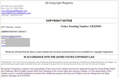 us copyright registry
