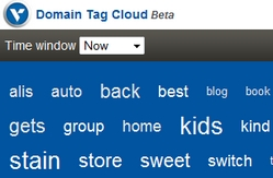 VeriSign domain tag cloud