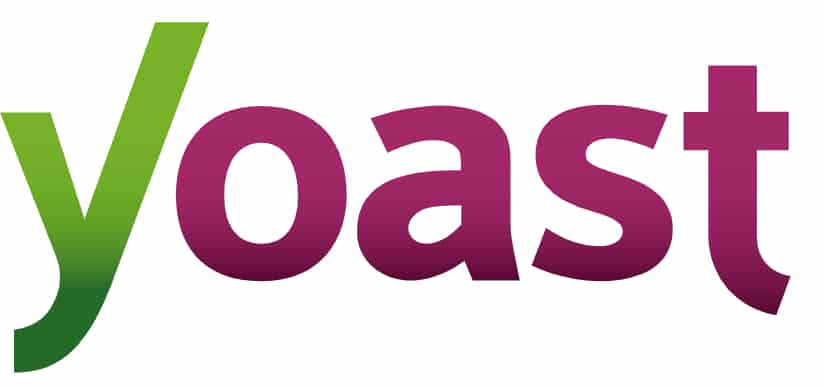 Logo for Yoast has a green y and purpole oast